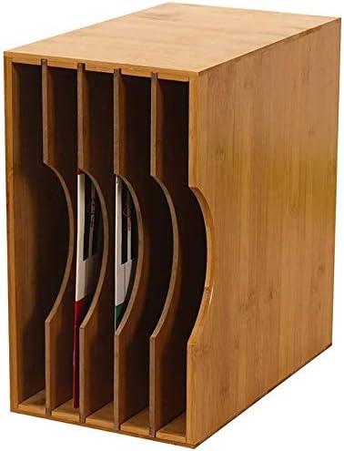 LILIS Cajonera para documentos,archivador Estante de almacenamiento de CD de grabación de CD de almacenamiento en rack de almacenamiento en rack de almacenamiento del disco de vinilo del disco de vini: Amazon.es: