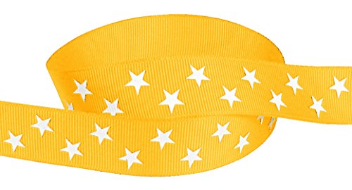 Yellow Gold Grosgrain Ribbon - 3