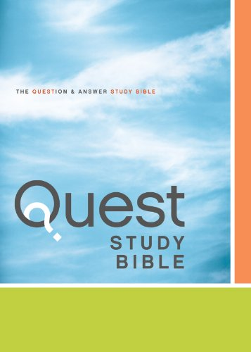 New 2011 Colour - NIV, Quest Study Bible, eBook: The Question and Answer Bible