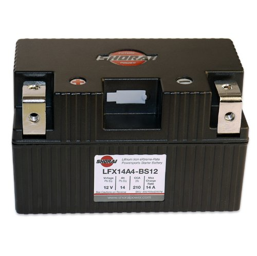 Shorai LFX14A4-BS12 Lithium Battery 423806