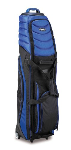Bag Boy T-2000 Pivot Grip Wheeled Travel Cover, Royal/Black, Outdoor Stuffs