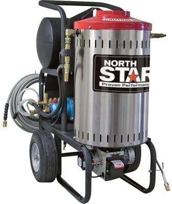 NorthStar Electric Wet Steam and Hot Water Pressure Washer – 2750 PSI, 2.5 GPM, 230 Volt