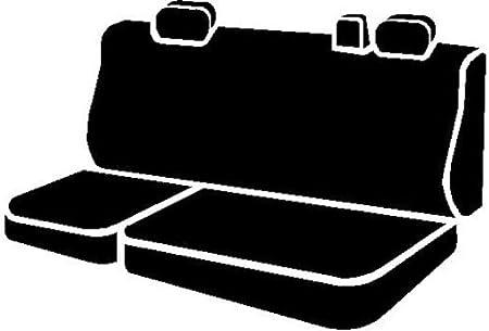 Fia SP87-64 BLACK Custom Fit Front Seat Cover Split Seat 60//40 Poly-Cotton, Black