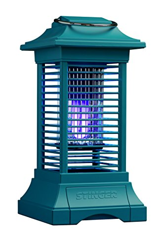 Mosquito Repellent Lamp (Stinger BKC90L Cordless Insect Zapper, Blue)