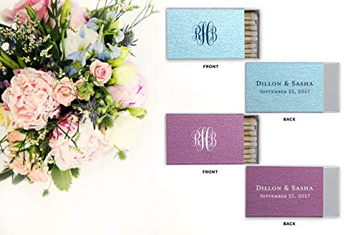 Personalized Matches, Matchbox Wedding Favors, Wedding, A Perfect Match, Decorative Matchbox 29]()