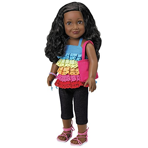 Search : Adora Amazing Girls 18-inch Doll, ''Jada'' (Amazon Exclusive)