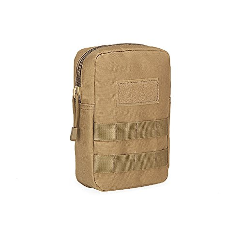Prettyui Tactical Molle Pouch Utility Medical First Aid Pouch Bag Military Gadget Waist Bag 800D Nylon