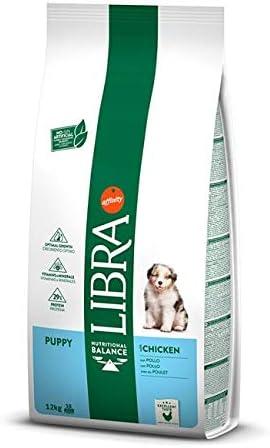 LIBRA Canine Puppy Pollo 12KG, Negro, Estandar