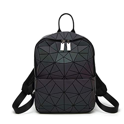 HotOne Geometric Backpack Holographic Reflective Backpacks for sale  Delivered anywhere in USA