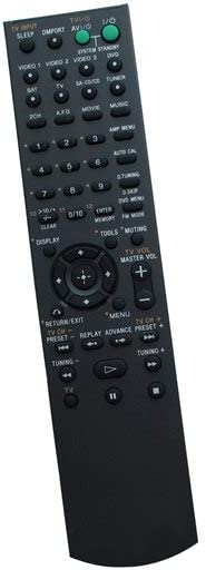 HCDZ Replacement Remote Control Fit for Sony RM-AAU036 STR-KG700 HT-DDW7000 DVD AV Home Bravia Theater System Receiver