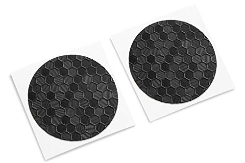(TouchProtect HEX - Enhance Tactile Feel, add Style, and Protect Your Trackpads. for Steam Controller and HTC Vive Controllers. Deep HEX Texture (Black))