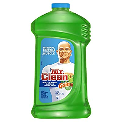 Mr. Clean with Gain Multi-Surface Cleaner, Original Fresh Scent, 40 Fluid Ounce