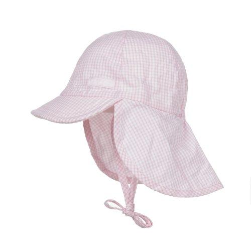 Döll Unisex - Baby Bindemütze mit Nackenschutz, Gr. 45, rosa (sweet lilac 2010)