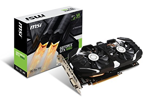 MSI Computer GTX 1060 3GT OC NVIDIA GeForce 3GB GDDR5 DVI/HDMI/DisplayPort PCI-Express Video Card (Renewed)