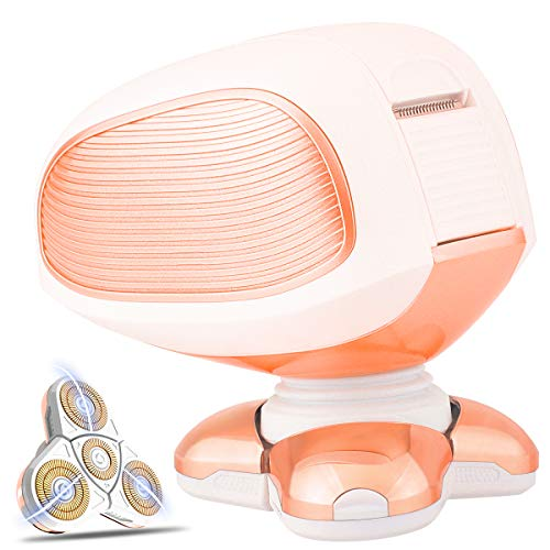 Women's Painless Hair Remover for Leg Women Epilator Hair Removal Electric Shaver for Women's Legs,Face,Lips,Bikini-As Seen On TV (4 directions) (4 directions) (As Seen On Tv Laser Hair Removal)