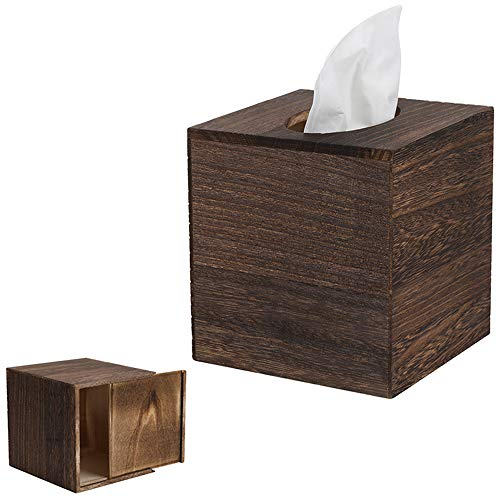 Very nice Tissue Box. Love the wood slide out bottom!