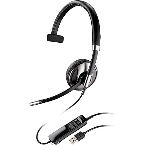 Plantronics Storage Case - Plantronics Blackwire (87505-01) Monaural Bluetooth-Enabled Corded Usb Headsets Optimized for Microsoft Lync with Noise Canceling Microphone and Hi-Fi Stereo Sound