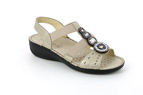 P Sandalo SE0153 Donna Platino Grunland DARA ZEqI1nwxnY