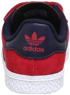 adidas OriginalsGAZELLE 2 CF I - Botines de Senderismo Bebé-Niños, color Rojo, talla 21: Amazon.es: Zapatos y complementos