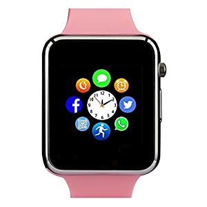 Smart Watch , Bluetooth Smart Watch with Camera /Pedometer Analysis/Sleep Monitoring for Android (Full Functions) and IOS (Partial Functions?