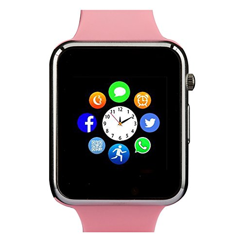 Smart Watch with Bluetooth Camera Music Player for IOS iPhone, Android Samsung HTC Sony LG Huawei - Running Network Womens