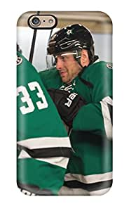 New Snap-on DanRobertse Skin Case Cover Compatible With Iphone 6- Dallas Stars Texas (20)