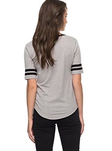 Erjzt04031 Heritage Board Boogie Heather Camiseta Roxy Para Mujer Mountain 6paYq