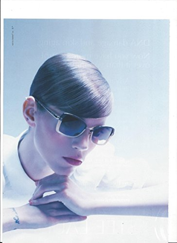 **PRINT AD** With Freja Beha Erichsen For 2010 Chanel Sunglasses **PRINT - Chanel Sunglass