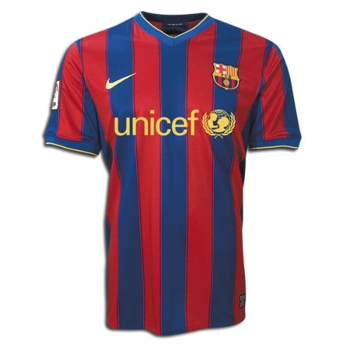 279d7c2d610 Amazon.com : FC Barcelona 2009-10 MESSI 10 Home Soccer Jersey Size Large : Athletic  Jerseys : Clothing
