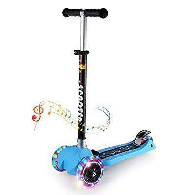 Kick Scooters for Kids, OUTAD Super-Tough Kids Stunt Scooter with Adjustable Handle Bars, New 2017 Designs from Outad