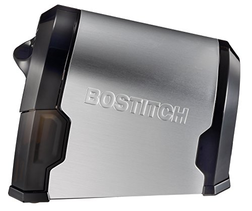 Bostitch Antimicrobial SuperPro  Glow Commercial Electric Pencil Sharpener, 6-Hole, Silver/Black (EPS14HC) Photo #2