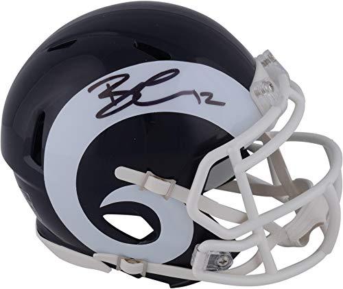 Brandin Cooks Los Angeles Rams Autographed Riddell Speed Mini Helmet - Fanatics Authentic Certified - Autographed NFL Mini Helmets