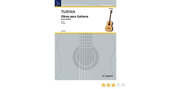 Obras Para Guitarra: Amazon.es: Joaquin Turina: Libros en idiomas ...