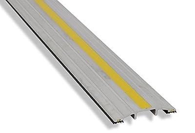 """Garadry ½"""" Commercial Door Aluminum Threshold Seal Kit"""