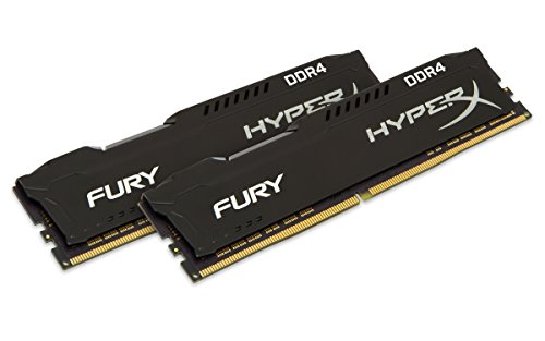 HyperX FURY Black 16GB Kit (2x8GB) 2133MHz DDR4 CL14 PC42133 DIMM XMP Desktop Memory (HX421C14FB2K2/16) (Predator Kingston Ram)