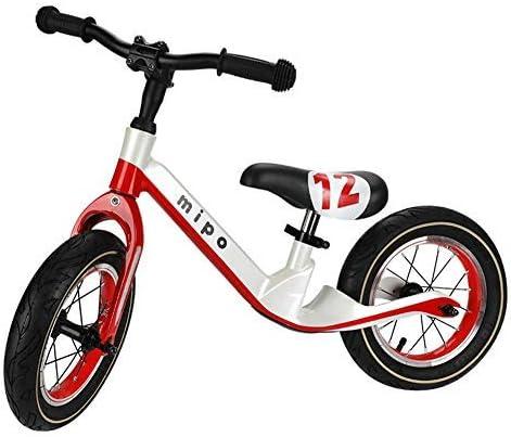 YSA キッズバランスバイクアジャスタブルフレームペダルなしウォーキングバランシング自転車アジャスタブルハンドルバーとシートスポーツトレーニング自転車(2-6歳)