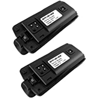 2Pack-Li-ion Battery for Motorola CP110 RDX MURS RDV5100 RDU4160D-18 Month Warra