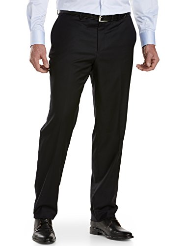 Jack Victor Pants (Jack Victor Big and Tall Reflex Flat-Front Dress Pants)