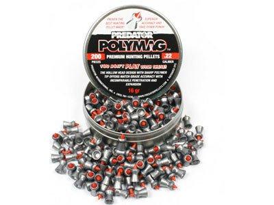 Predator Polymag .22 Cal, 16.0 Grains, Pointed, 200ct