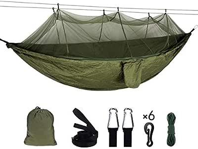 Unfolding Ultralight Automatic Parachute Hammock Double