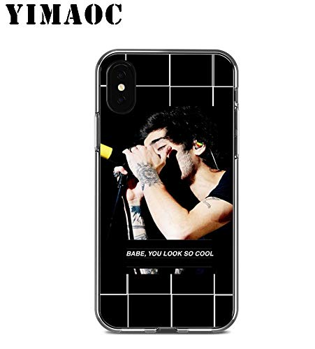Inspired by Zayn Malik Phone Case Compatible With Iphone 7 XR 6s Plus 6 X 8 9 Cases XS Max Clear Iphones Cases TPU 32923770317 Plus Hat Plus Mp3 Mind