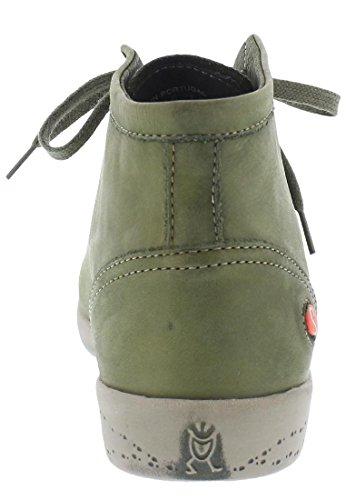 Alto Collo Washed Grau a Sneaker Donna Isleen 061 Anthracite Softinos OIxqXn