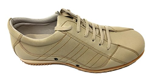 Teenage Man Beige Outsole Numbers 43 in Shoe Rubber Made Leather Upper Material Spain Color Material Himalaya Boys 41 40 Closure Beige Laces 4EqP15Sn