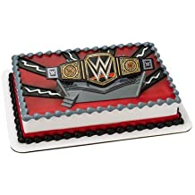 WWE Championship Ring DecoSet Cake Topper WWE Wrestling
