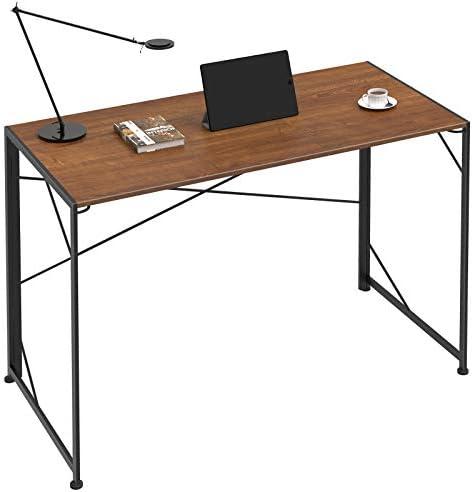 Isbasa Writing Computer Desk 39″ Industrial Style