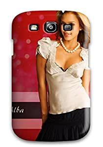 Galaxy S3 Case Cover - Slim Fit Tpu Protector Shock Absorbent Case (jessica Alba Latest 2010)