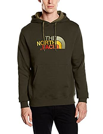 95a9e7bb3e The North Face Men s Drew Peak Pullover Hoodie - Black Ink Green ...