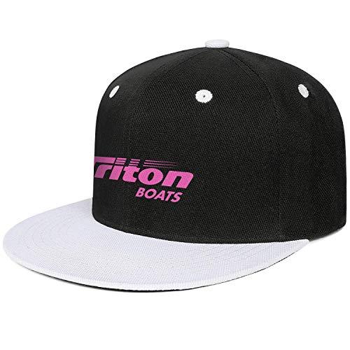 Pupkitten Fashion Cap Adjustable Triton-Boats-Fishing-Pink-Breast-Cancer-White Pattern Trucker Hat