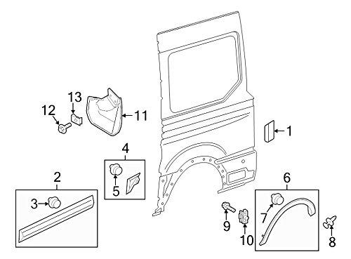 Ford BK3Z-9928371-AA - Shield Splash Wheelhouse