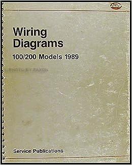 1989 Audi 100 and 200 Original Wiring Diagram: Audi: Amazon.com: BooksAmazon.com